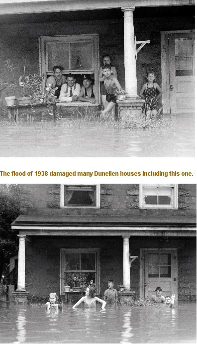 flooded house